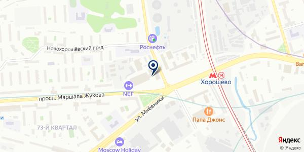 Русские Автобусы-Группа ГАЗ на карте Москве