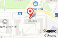 Схема проезда до компании Мзс Строй в Москве