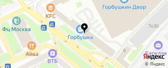 DVR-group на карте Москвы