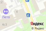 Схема проезда до компании Akela в Москве