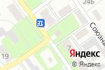 Схема проезда до компании Дионис в Щёкино