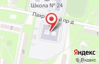 Схема проезда до компании Начальная школа-детский сад №53 в Подольске