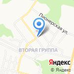 Людмила на карте Щёкино
