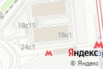 Схема проезда до компании Диат в Москве