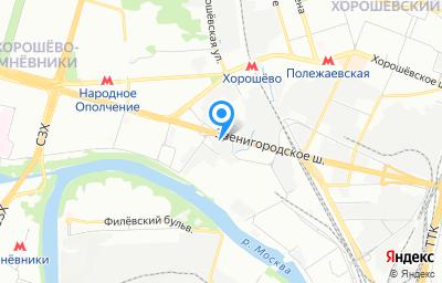 Местоположение на карте пункта техосмотра по адресу г Москва, проезд 2-й Силикатный, д 9 стр 3