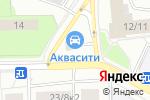 Схема проезда до компании Листок в Москве
