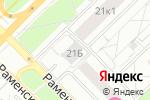 Схема проезда до компании Мед-Ютас в Москве