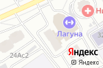 Схема проезда до компании Осирис-Моторс в Москве
