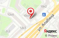 Схема проезда до компании Прогресс в Москве
