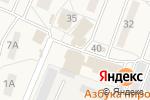 Схема проезда до компании Продуктовый магазин в Некрасовском