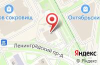 Схема проезда до компании Maxibit в Подольске
