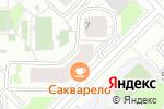 Схема проезда до компании Твойотпуск.рф в Москве