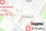Схема проезда до компании Управа района Тёплый Стан в Москве