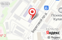 Схема проезда до компании Фармсодружество в Москве