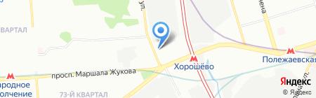 Satels на карте Москвы