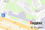 Схема проезда до компании КБ СДМ-БАНК в Москве