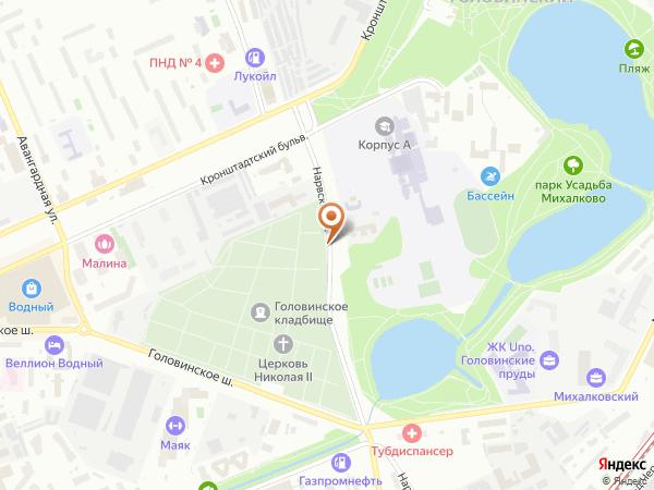 Остановка Детский сад в Москве