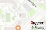 Схема проезда до компании СервисГрад в Москве