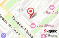 Схема проезда до компании Белтранс в Москве