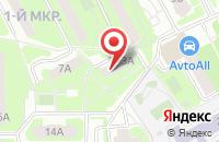 Схема проезда до компании Грот в Подольске