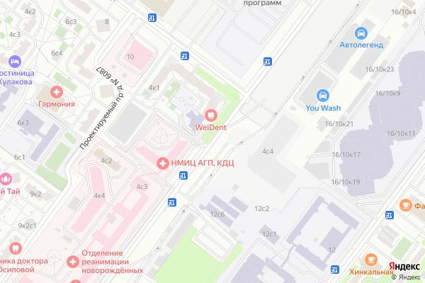 Ремонт телевизоров Улица Академика Опарина на яндекс карте