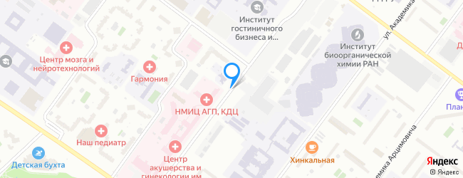 улица Академика Опарина