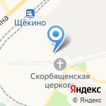 Уголовно-исполнительная инспекция на карте Щёкино