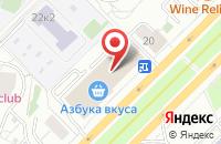 Схема проезда до компании Проксима Сейлс в Москве