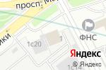 Схема проезда до компании Коробочка в Москве