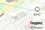 Схема проезда до компании РУСБИЗНЕСАВТО в Москве