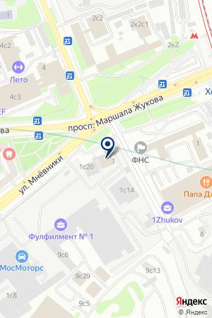 ЮРИДИЧЕСКОЕ АГЕНТСТВО ПО ПОДДЕРЖКЕ И РАЗВИТИЮ ПРЕДПРИНИМАТЕЛЬСТВА на карте Москвы