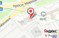 Схема проезда до компании Региональный Центр Безопасности Торговли в Москве
