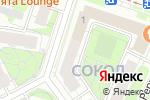 Схема проезда до компании 4Стихии в Москве