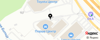 Порше Центр Ясенево на карте Москвы