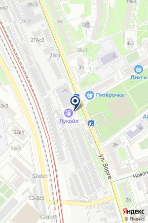 ГСК ПОЛЕТ на карте Москвы