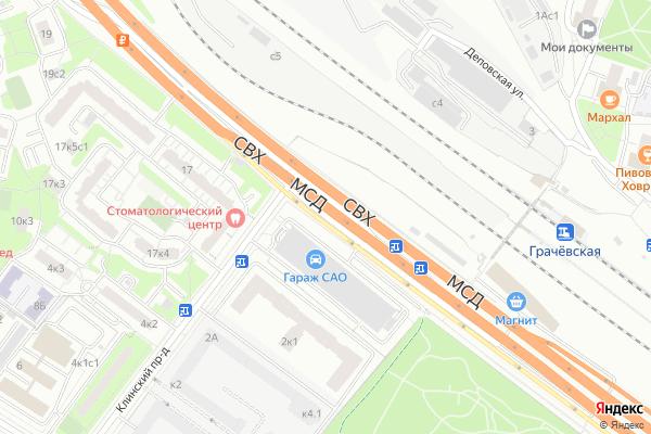 Ремонт телевизоров Улица Зеленоградская на яндекс карте