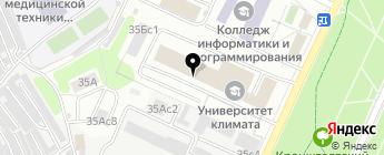 Протект-Авто на карте Москвы