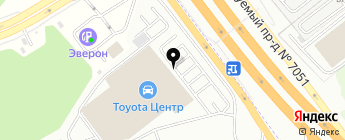Тойота Центр Ясенево на карте Москвы
