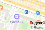 Схема проезда до компании Chemodan-pro.ru в Москве