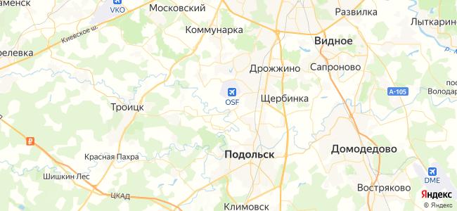 1045 автобус в Щербинке