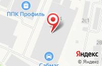 Схема проезда до компании Лювис в Климовске