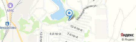 Барсучок на карте Барсуков