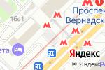 Схема проезда до компании Старый Лекарь в Москве