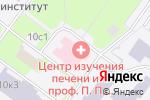 Схема проезда до компании Поликлиника №25 в Москве