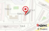 Схема проезда до компании Ипсилон-Сервис в Москве