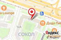 Схема проезда до компании СпецСтройТорг в Москве