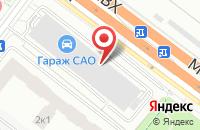 Схема проезда до компании Биэсай в Москве