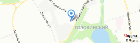 KeramCity на карте Москвы