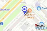 Схема проезда до компании ЛИГРЭТ МЕБЕЛЬ в Москве
