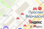 Схема проезда до компании Ticketland в Москве